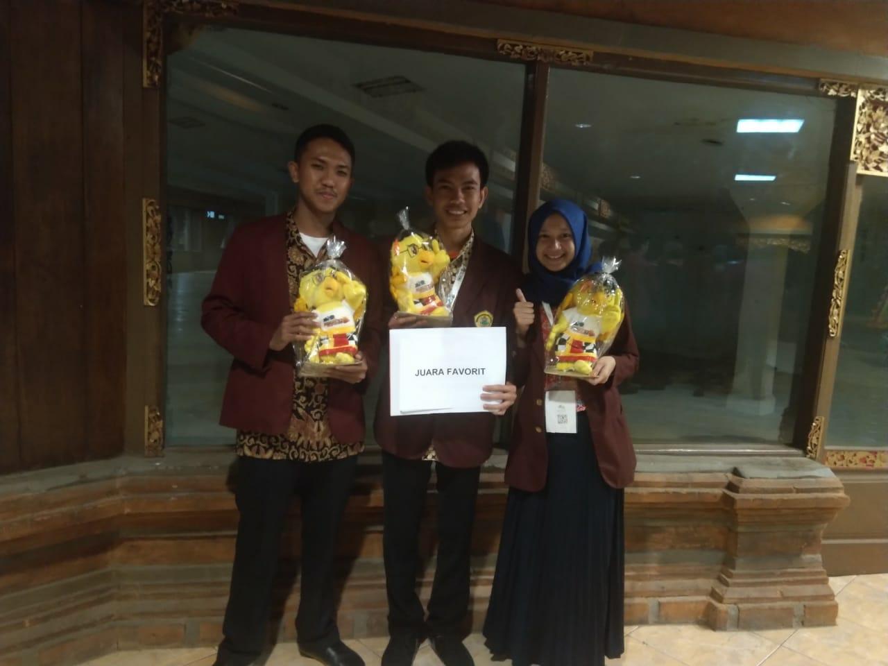 Mahasiswa Untirta Raih Juara Favorit PIMNAS Ke-32 Bali Tahun 2019
