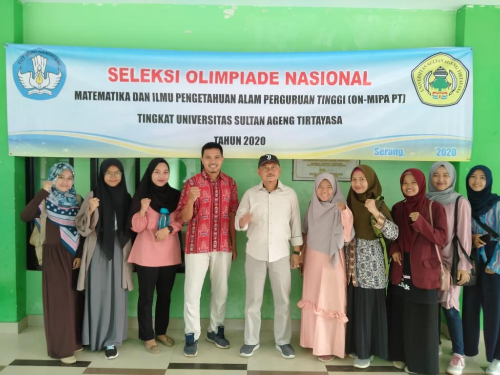 Untirta adakan Seleksi Olimpiade Nasional Matematika dan Ilmu Pengetahuan Alam Perguruan Tinggi (ON MIPA PT) tingkat Universitas Sultan Ageng Tirtayasa